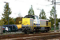 SNCB 7736 stabled at Lier